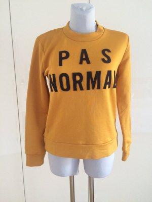 """Wood Wood Sweatshirt """"Pas Normal"""" Gr. M"""