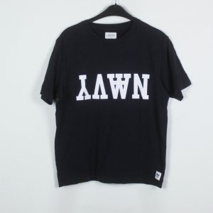 Wood Wood T-Shirt Gr. S schwarz/weiß Schriftzug (19/03/146)