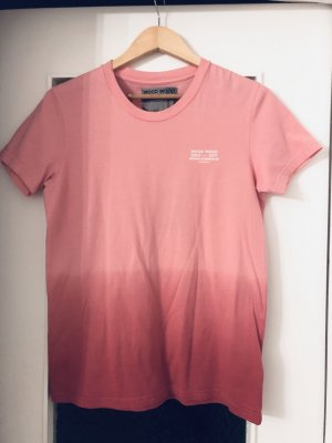 Wood Wood Tshirt L rosa Unisex