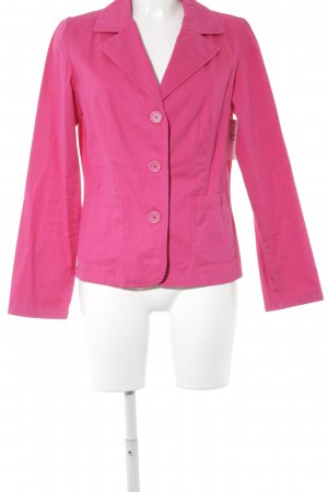 Woodpecker Kurz-Blazer pink Street-Fashion-Look