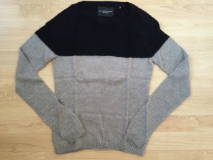 Wool, Needles and Passion Maison Scotch Mohair Pullover schwarz/graubraun