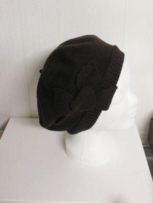 Woolmark Mütze Baskenmütze