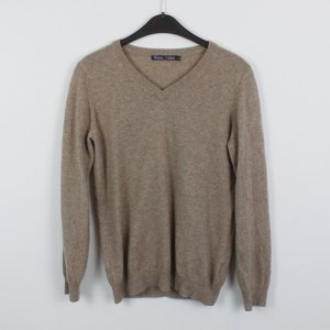 Woolovers Pullover Strickpullover Gr. XS braun (18/10/183)