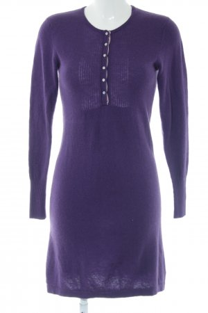 Woolovers Woolen Dress lilac casual look