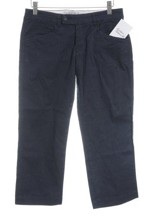Woolrich Pantalon 3/4 bleu foncé style décontracté