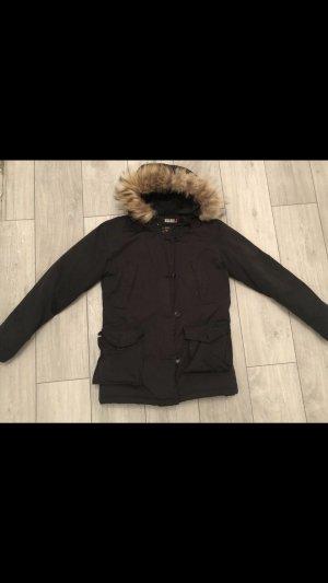 Woolrich Parka noir-beige