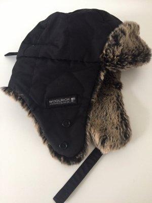 Woolrich Fur Hat black fur