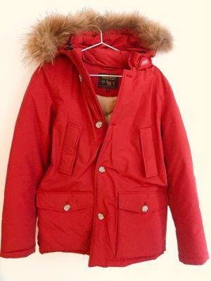 Woolrich Piumino rosso-marrone chiaro