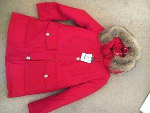 Woolrich Jacket carmine-dark red