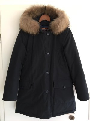Woolrich Winter Coat dark blue