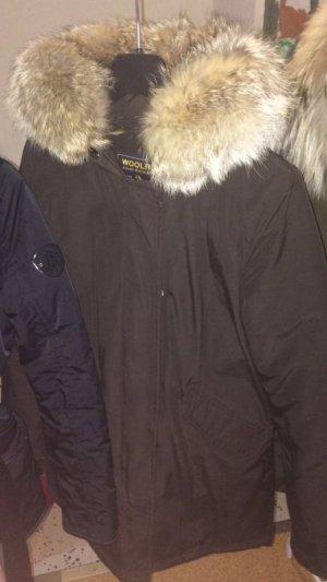 Woolrich Arctic Parka braun S 36 neuwertig