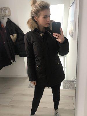 Woolrich Giacca in pelliccia marrone scuro
