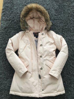 Woolrich Arctic Parka Damen Rosa Pink Neuwertig mit Kassenbon