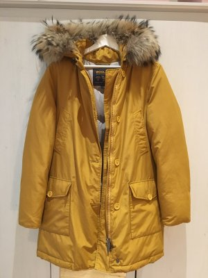 Woolrich Abrigo de plumón amarillo-ocre