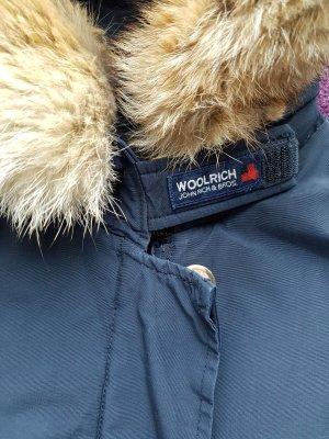 Woolrich Arctic Parka mit Pelz Gr. S Damen Dunkelblau