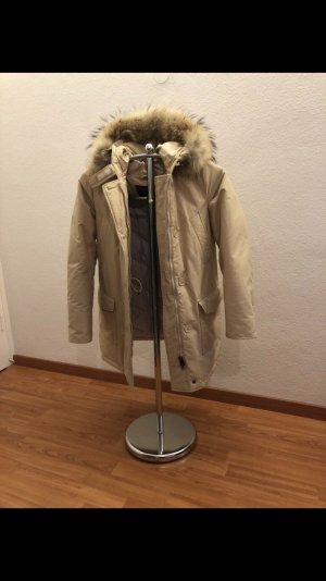 Woolrich Down Coat oatmeal