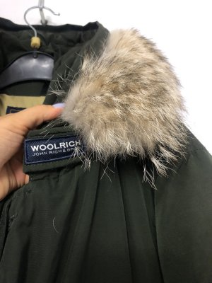 Woolrich Winter Jacket khaki