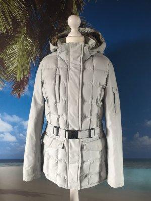 Woolrich Down Jacket pale blue-azure mixture fibre