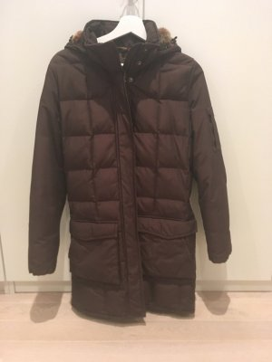 Woolrich Down Coat black brown