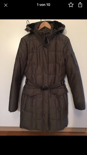 Woolrich Winter Coat grey brown-taupe