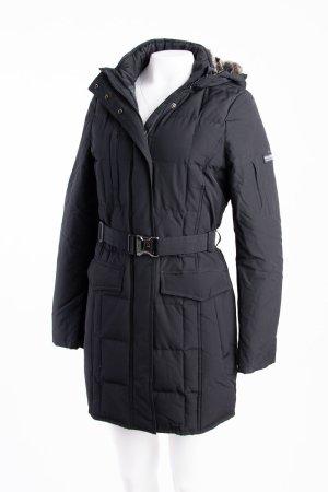 Woolrich Abrigo de plumón negro Algodón