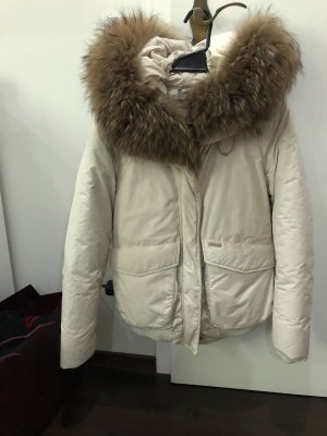 Woolrich Giacca bomber bianco sporco