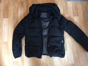 Woolrich Down Jacket black polyester