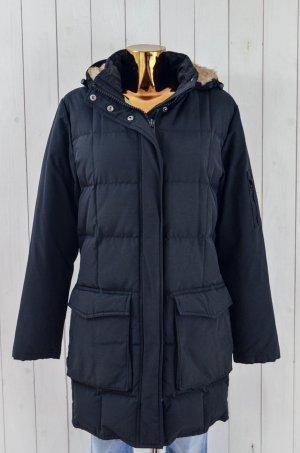 WOOLRICH Damen Mantel Daunenmantel Outdoor Schwarz Mod.Blizzard Parka Fell Gr.M