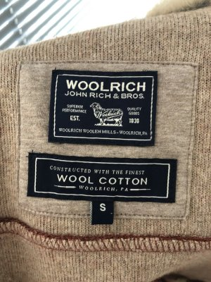 Woolrich Veste en laine brun-rouille