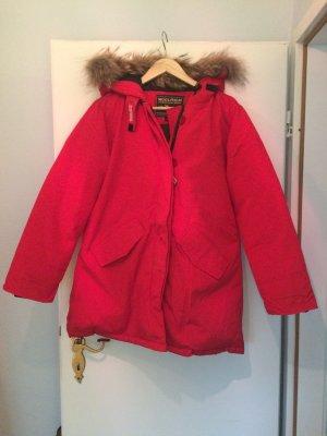 Woolrich Damenparka in Rot