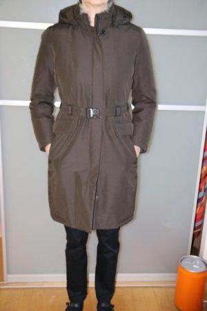 Woolrich Daunen Mantel schokobraun, Größe XL (40-42)