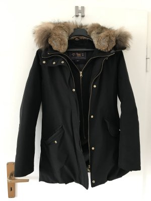 Woolrich Down Jacket black-gold-colored
