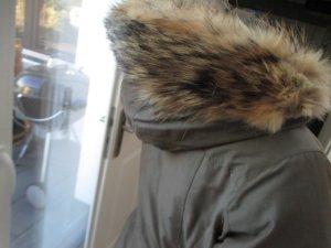 Woolrich Doudoune gris brun