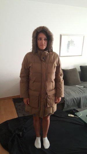 Woolrich Down Coat beige
