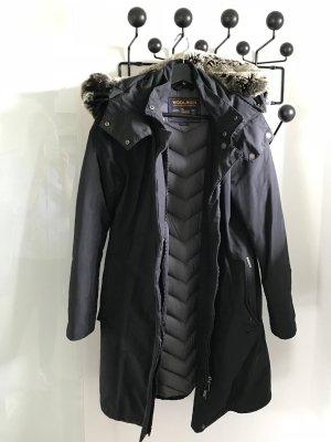 Woolrich Coat black mixture fibre