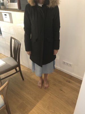 Woolrich Manteau court noir