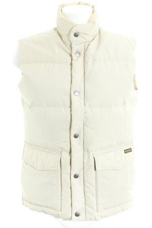 Woolrich Piumino smanicato beige chiaro stile semplice