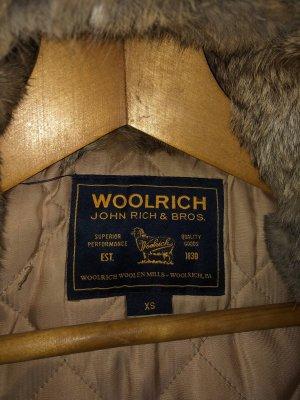 Woolrich Manteau de fourrure kaki