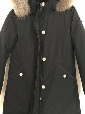 Woolrich Veste de fourrure noir