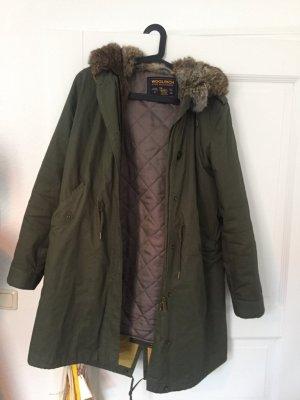 Woolrich Fur Jacket multicolored fur