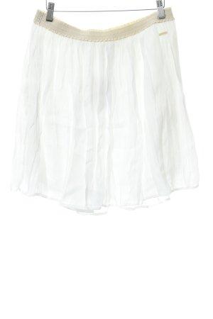 Woolrich Jupe évasée blanc-blanc cassé style décontracté