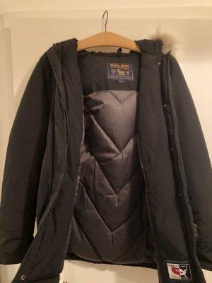 Woolrich Veste d'hiver noir-blanc