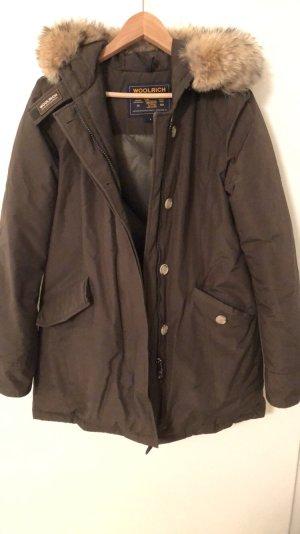 Woolrich Pelt Jacket khaki-green grey