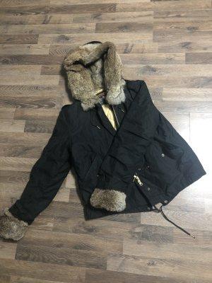 Woolrich Giacca di pelliccia nero