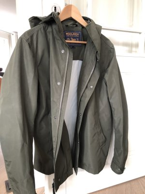 Woolrich Outdoor Jacket green grey-olive green