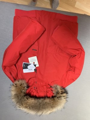 Woolrich Winter Jacket red