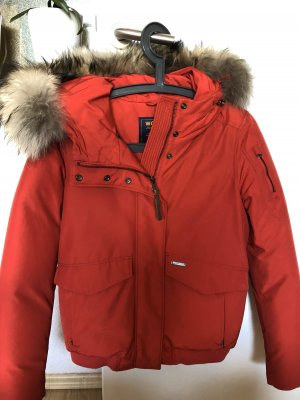 Woolrich Outdoor Jacket red