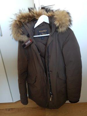 Woolrich Parka marrón grisáceo