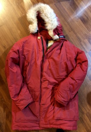 Woolrich Down Jacket red