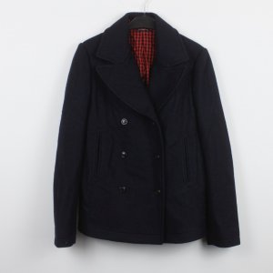 Woolrich Giacca invernale blu scuro Lana